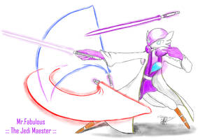 3.1 Mr.Fabulous, the Jedi Maester by Leonardo-ergiT