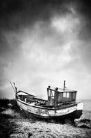 old boat by BelcyrPiotr