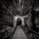 Gothic gate by BelcyrPiotr