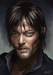 Norman Reedus by Snowbowl
