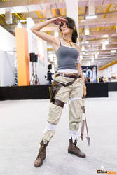 Lara Croft for a day by RachAsakawa