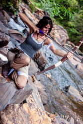 The young Tomb Raider by RachAsakawa