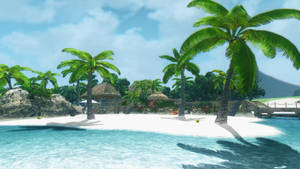 Dead or Alive 5  Zack Island in skyrim by user619