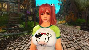 Dead or Alive 5 Honoka Follower Skyrim Mod by user619