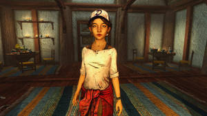 TheWalkingDeadANewFrontier Clementine Skyrim Mod by user619