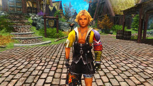 Final Fantasy 10 Tidus Follower and Armor by user619
