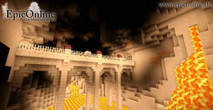 Underground Minecart Bridge by EpicOnline