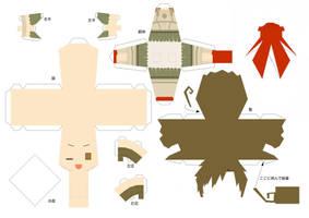 Hetalia Papercraft - Rome by Dj-Mewmew
