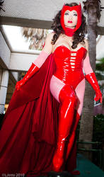 Scarlet Witch at Megacon II by yayacosplay