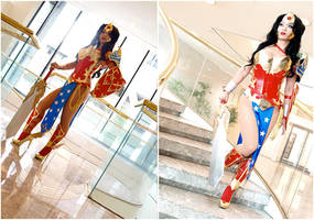 Ame-Comi Wonder Woman by yayacosplay