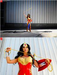 Wonder Woman - Ame Comi I by yayacosplay