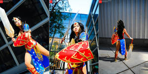 Wonder Woman - Ame Comi II by yayacosplay