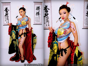 Bodypaint Project by yayacosplay