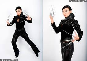 Adamantium Manicure by yayacosplay