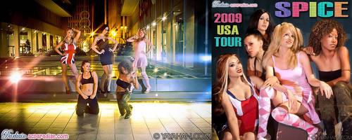 Spice Girls in Atlanta! by yayacosplay