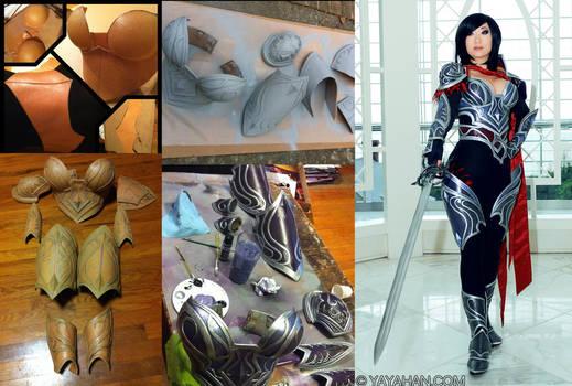 Fiora - Worbla armor process by yayacosplay