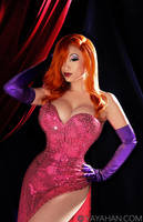 Jessica Rabbit poster by yayacosplay