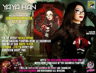 Yaya at San Diego Comic Con 2013 by yayacosplay