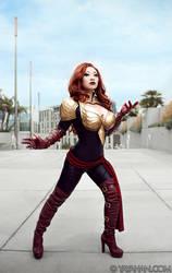 Phoenix Force - Marvel Avengers Alliance debut by yayacosplay