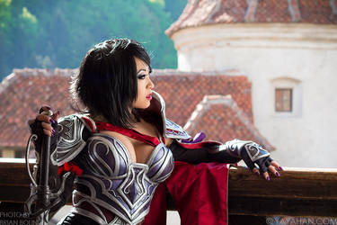 A Champion's Respite by yayacosplay