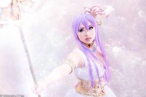 Athena - Saint Seiya by yayacosplay