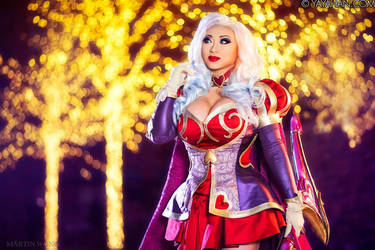 Heartseeker Ashe III - League of Legends by yayacosplay