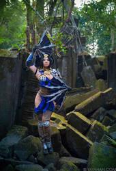 New Costume - Kitana from Mortal Kombat X by yayacosplay