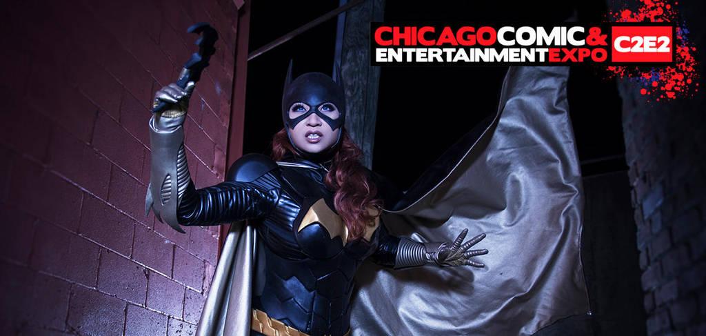 Batgirl-c2e2 by yayacosplay