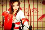 Tokyo 3000 - Lip Service Dress by yayacosplay