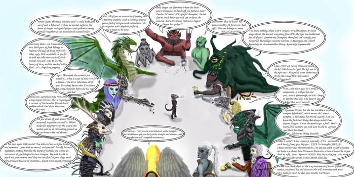 Daedric conference colored by Spynder4