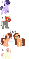 MLP shipping Adopts - CLOSED by Scraftyy