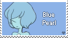 Blue pearl STAMP by Scraftyy
