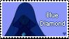Blue Diamond STAMP by Scraftyy