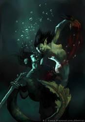 Mother of Grendel... Ravenous by Level20Artist