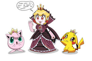Army of Peachs ! by Alessia-Nin10doh