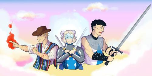 The Bold Guardians of the Shining Citadel - Impact by IllustratedJai