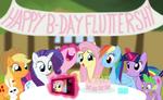 Happy Birthday Fluttershy by SimeonLeonard