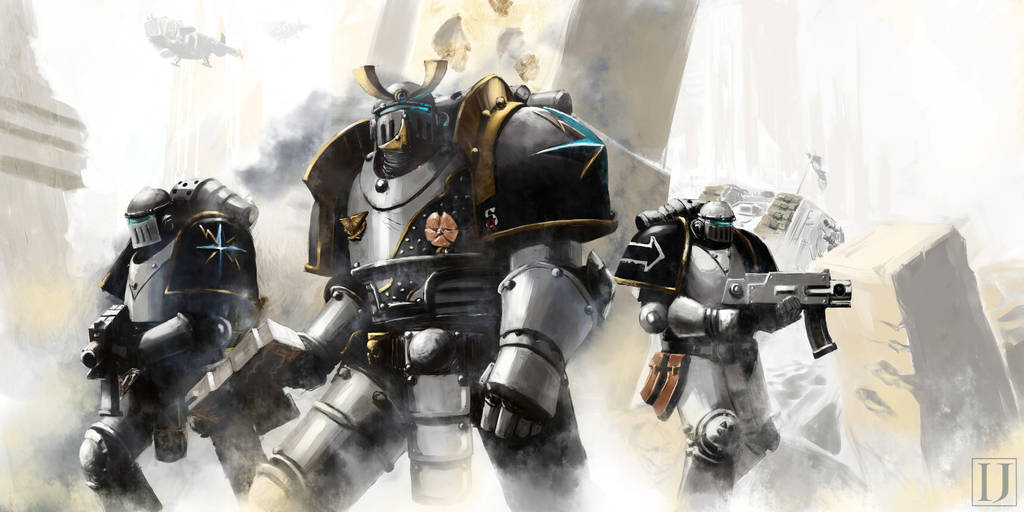 2nd Legion , Lightning Bearers . Commission . by Ilqar