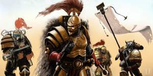 Thunder Warriors wip 2 by Ilqar