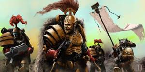 Thunder Warriors by Ilqar