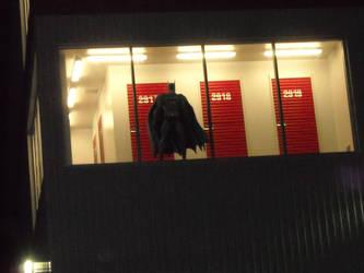 Batman in a storage unit? by amalthea