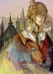 Vampire of Romania by el2san