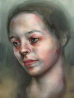 Portrait - 30082010 by AEnigm4