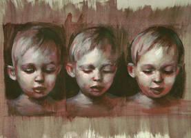 Childrens heads - 6 december 2011 by AEnigm4