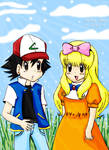 Spring Days - Ash and Ashley by nurselorry01