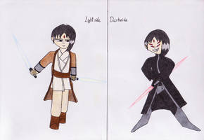 Zin Yan-The Jedi and the Sith by lordtrigonstar