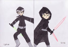 Michelle-The Jedi and the Sith by lordtrigonstar