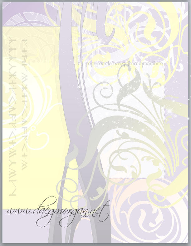 Bird Outside a Window - Abstract by greyorm