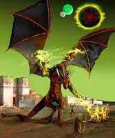 Dregoth At the Gates by greyorm