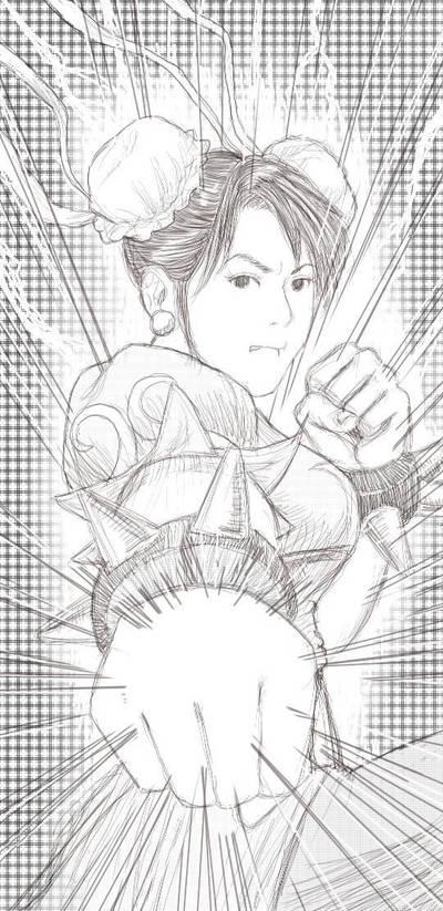 Chun Li by randychen